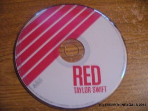 Red - Taylor Swift's LATEST CD!